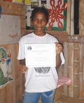 Paula at camp